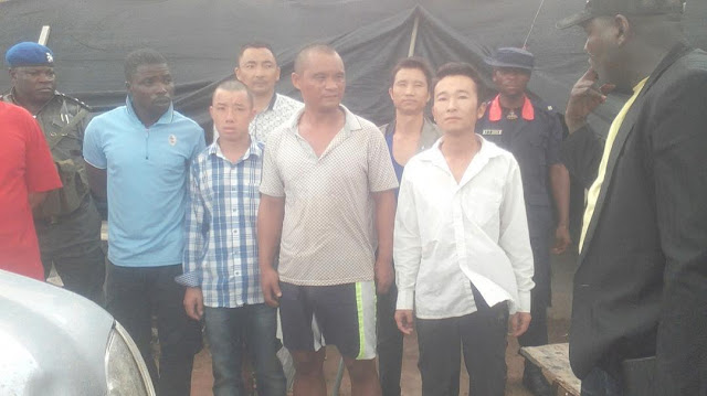 Illegal Chinese miners arrested in Plateau, Minister of Mines fumes at security operatives