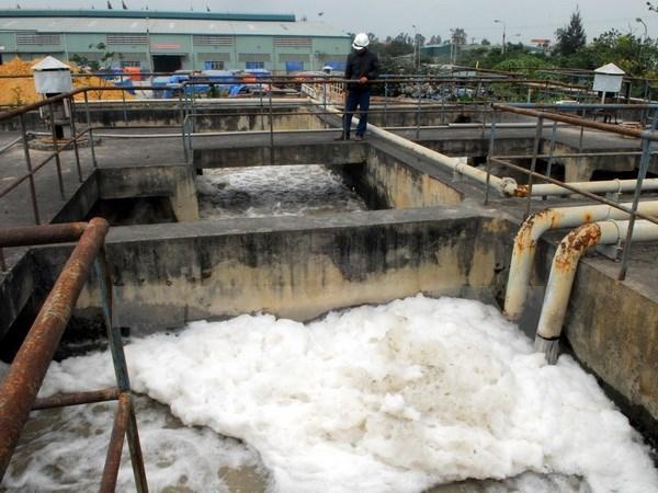 Nhà máy đầu tiên xử lý nước thải bằng hóa chất tăng cường