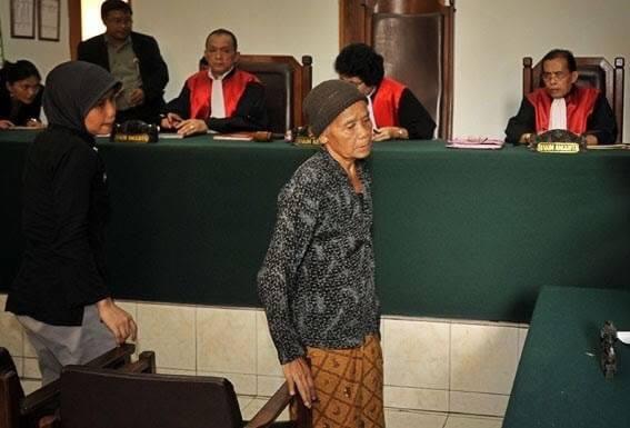 Seorang Nenek Mencuri Singkong Karena Kelaparan, Hakim Menangis Saat Menjatuhkan Vonis
