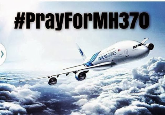 #Pray For MH370