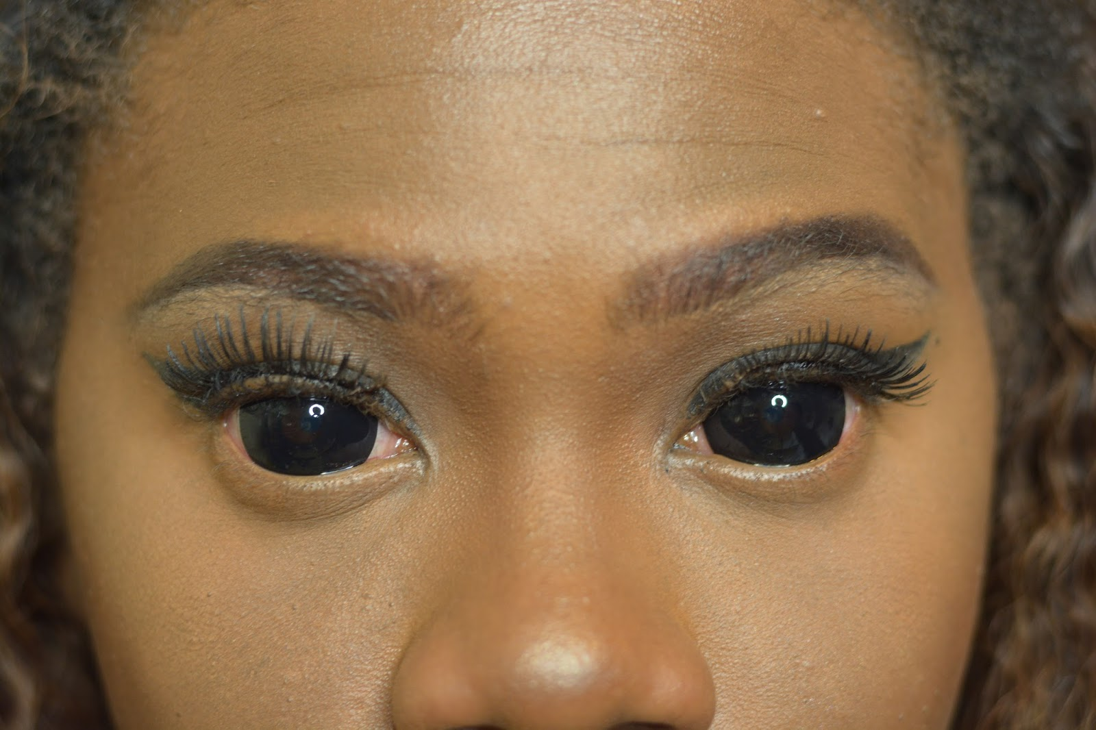 Black eye contact lenses opinion you