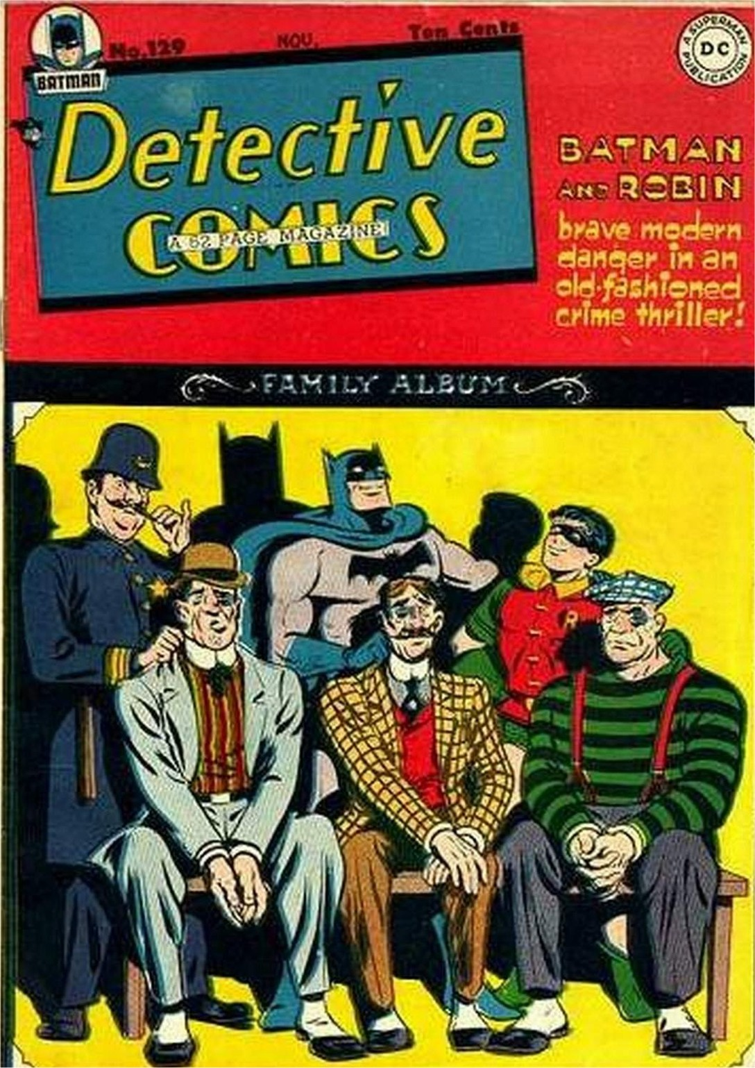 Read online Detective Comics (1937) comic -  Issue #129 - 1