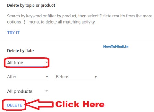 How to Delete My Google Search History Permanently on PC All