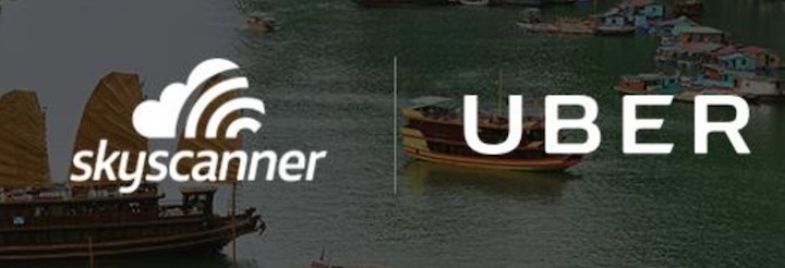 Uber SkyScanner International Getaway Offer