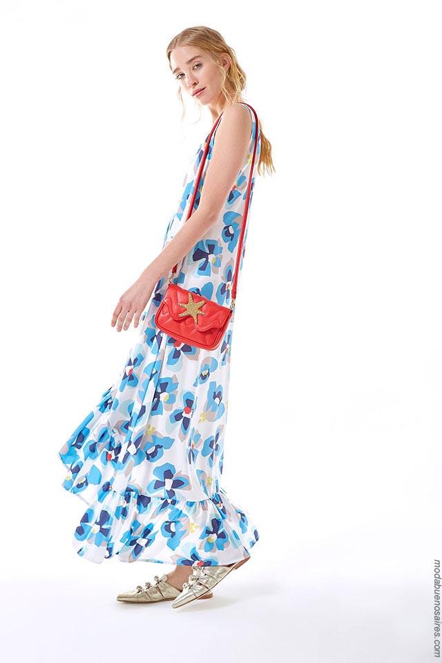 Moda primavera verano 2019. Ropa de moda para mujer vestidos 2019.