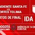Santa Fe vs Tolima EN VIVO ONLINE Por los Cuartos de Final Ida en la Liga Águila / HORA Y CANAL