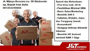Lowongan kerja terbaru di J&T Express Situbondo
