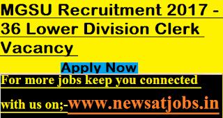 MGSU-jobs-2017-36-LDC-Vacancy