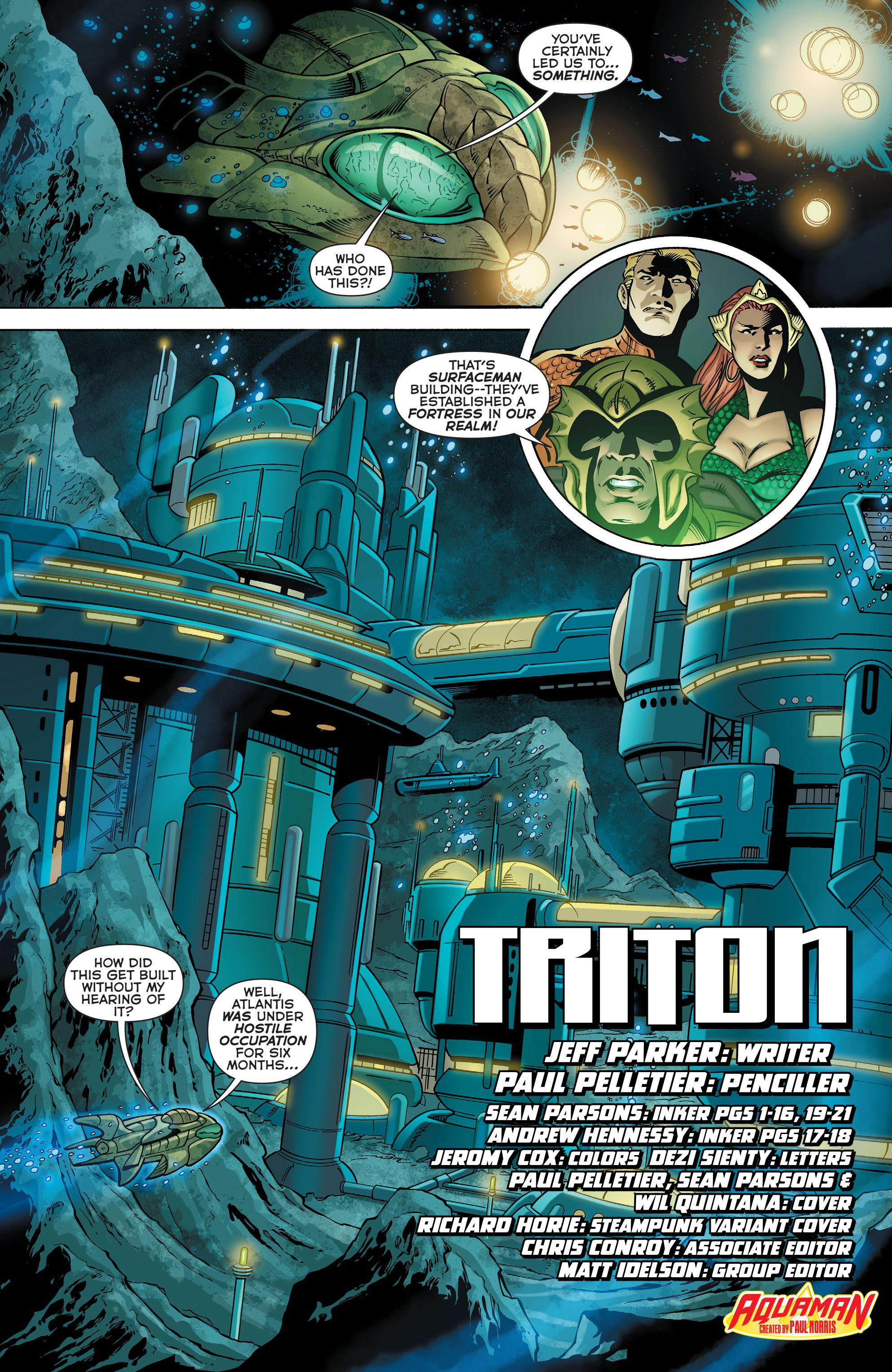 Read online Aquaman (2011) comic -  Issue #28 - 3