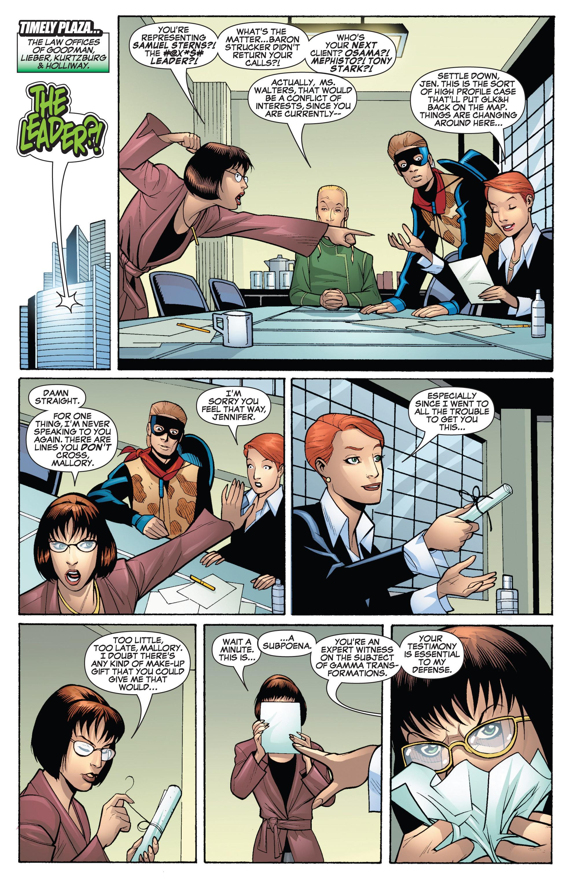 Read online She-Hulk (2005) comic -  Issue #19 - 6