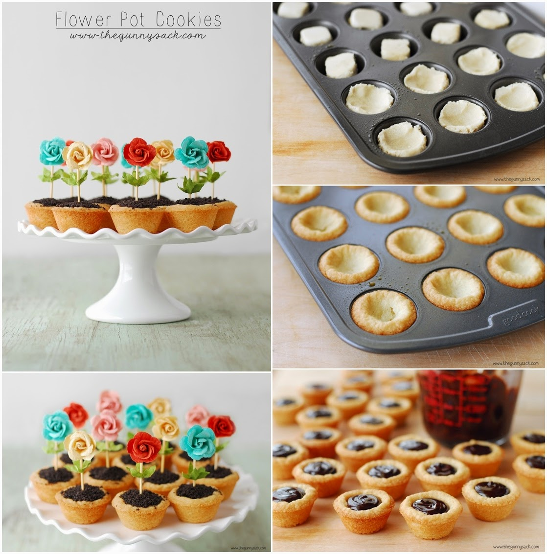 226 & Flower Pot Cookies - DIY Craft Projects