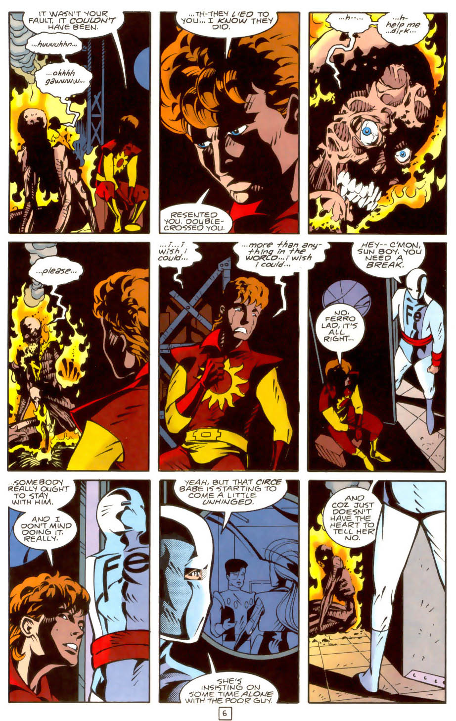 Legion of Super-Heroes (1989) 36 Page 6