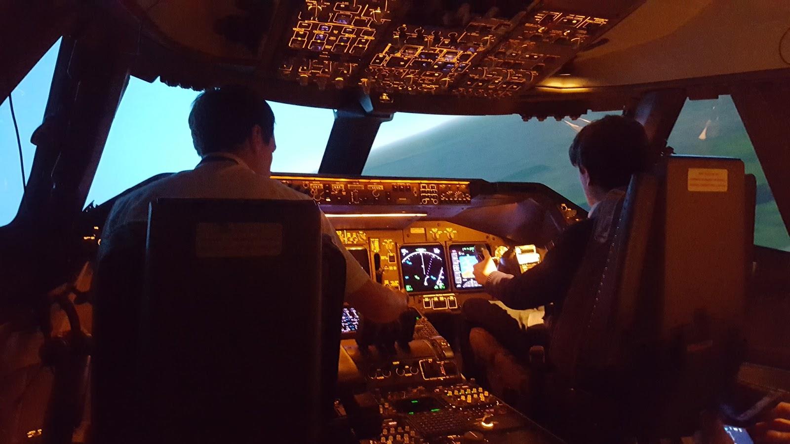 aeroBILITY blog: Julian's British Airways Simulator Experience