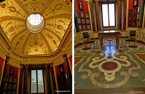 Sala das Miniaturas, na Galleria degli Uffizi, Florença