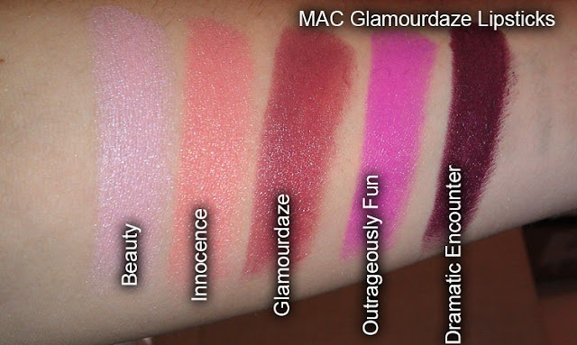 Makeup Tips Mac Glamourdaze Swatches And Review