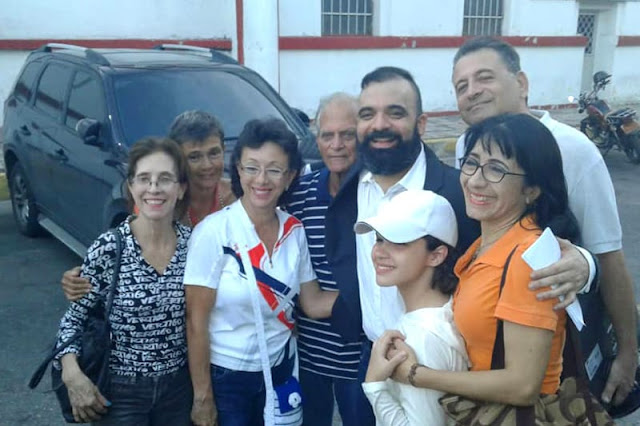 Raúl Emilio Baduel fue liberado la tarde de este domingo en Maracay