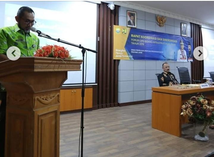 Konsolidasi Program, PUPR Provinsi Jambi Gelar Rapat Sinkronisasi