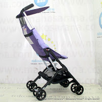 Kereta Bayi Lightweight CocoLatte CL688 Pockit Purple