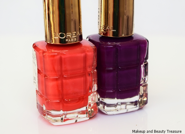 new loreal nail polishes