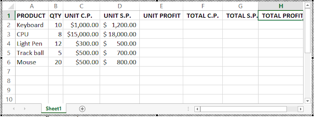sales-report question-table1