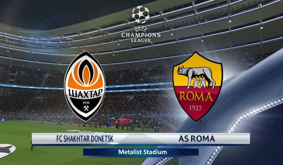 Shakthar-ROMA Streaming: info Facebook Live-Stream Video YouTube, dove vederla con PC iPhone Tablet TV