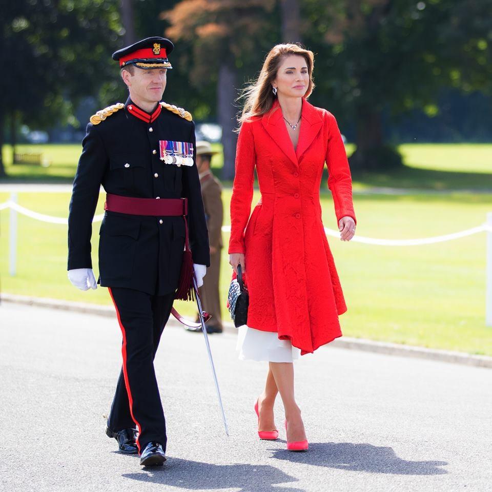 Queen Rania Facebook