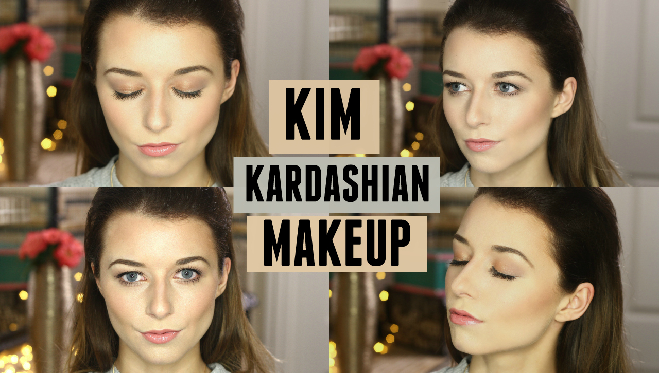Kim kardashian makeup tutorial everyday nude pushed back hair above click on the thumbnail to check out my new video baditri Images