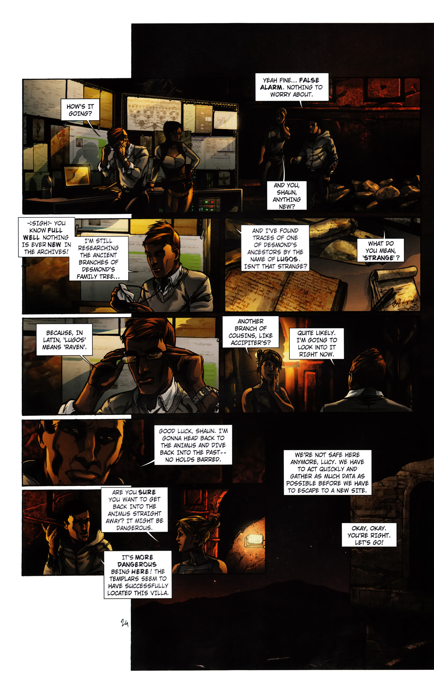 Read online Assassin's Creed (2012) comic -  Issue #3 - 30