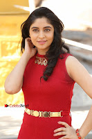 Telugu Actress Zahida Sam Latest Pos in Red Gown at RF Films New Movie Opening  0029.JPG