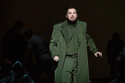 Britten:War Requiem - David Butt Philip - English National Opera - (Photo Richard Hubert Smith)