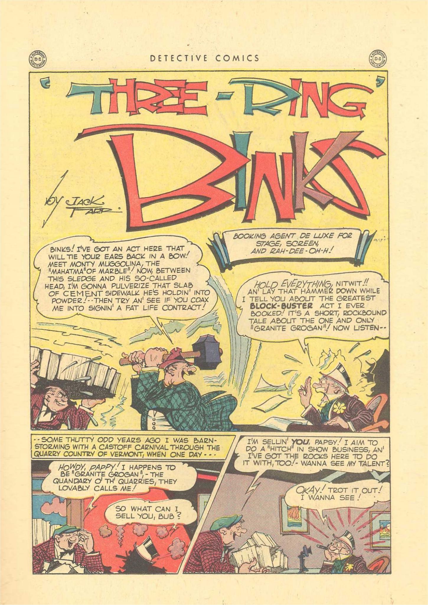 Read online Detective Comics (1937) comic -  Issue #109 - 33