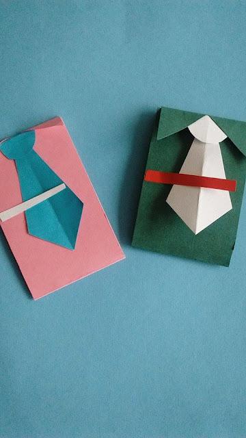 tarjeta-regalo-dia del pradre-corbata-manualidades-papel