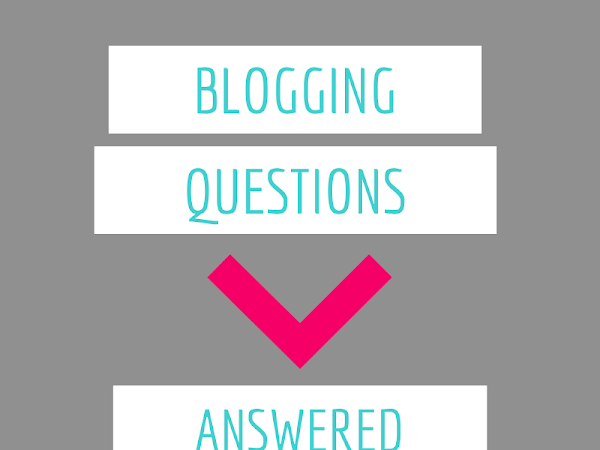 Blogging Questions Answered! (via Twitter)