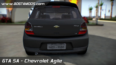 Download Chevrolet Agile para GTA SAN ANDREAS 3