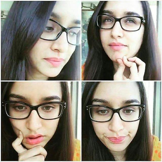 Shraddha Kapoor funny selfie