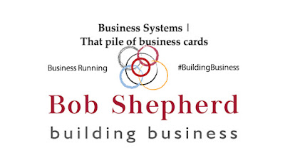 Bob Shepherd Associates article image | That pile of business cards