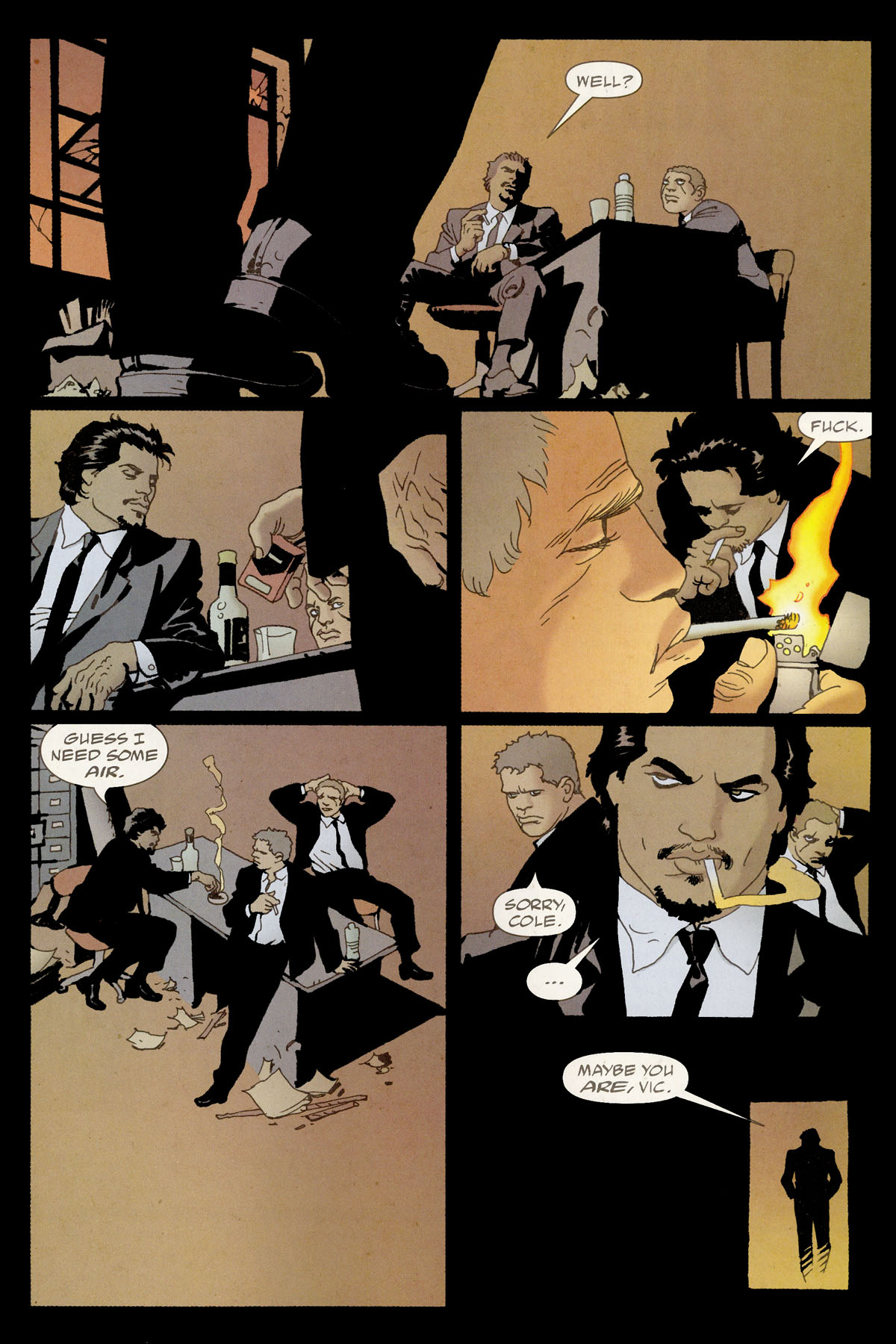 Read online 100 Bullets comic -  Issue #80 - 21