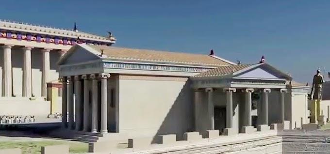 Μια τριδιάστατη παρουσίαση του Ιερού βράχου της Ακροπόλεως των Αθηνών