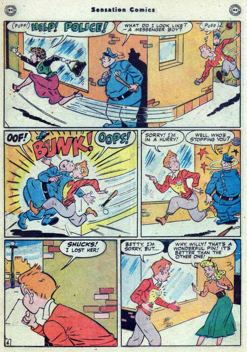 Read online Sensation (Mystery) Comics comic -  Issue #82 - 34