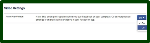 Stop Video Autoplay Facebook