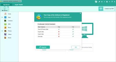 Cara Memasang Coolmuster Full Version Untuk Backup Android di Komputer