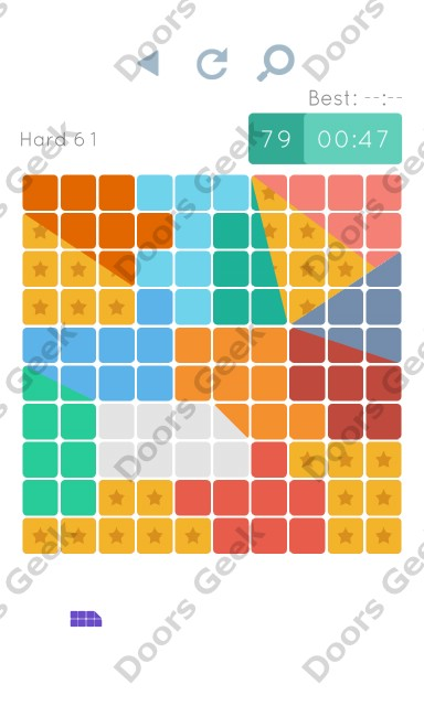 Cheats, Walkthrough for Blocks and Shapes Hard Level 61