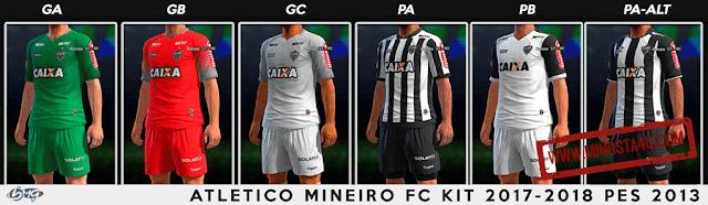 PES 2013 CA Mineiro and Gremio