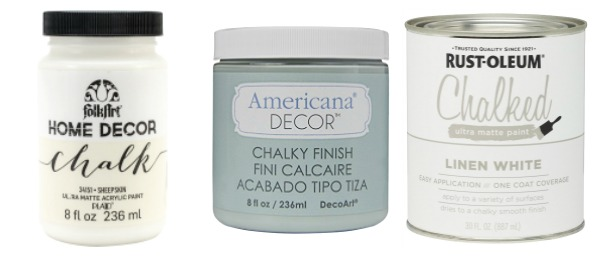 Different chalk paint brands