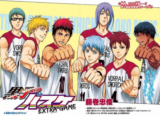 Kuroko's Basket - Extra Game, Kazé Manga, Tadatoshi Fujimaki, Manga, Actu Manga,