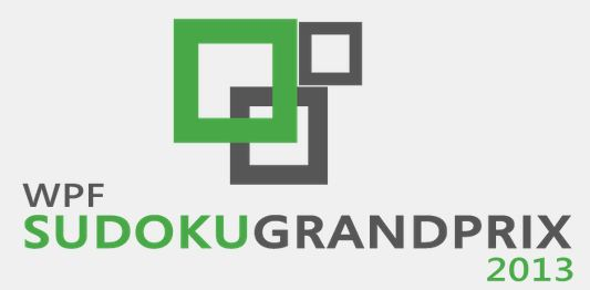 Sudoku Grand Prix 2nd Round : 9th - 11th February 201