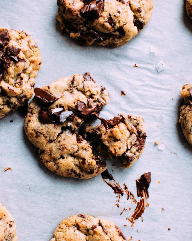 4 postres veganos fáciles y rápidos, cookies chocolate