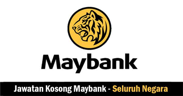 Jawatan Kosong di Maybank Berhad - Pengambilan Seluruh Negara