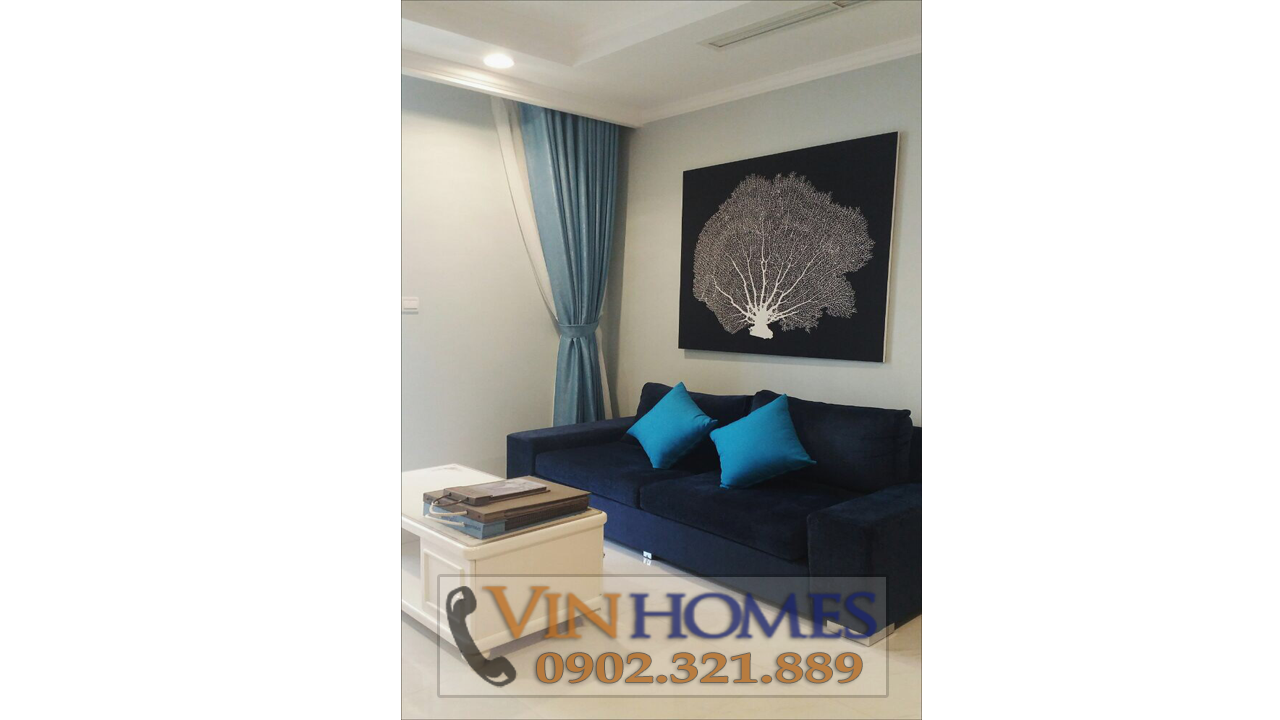 Cho thuê căn hộ Vinhomes Central Park C3 - sofa phòng khách