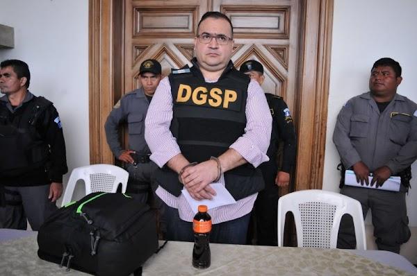 Para la PGR ya no son miles los que desapareció Javier Duarte, solo son 38 mdp